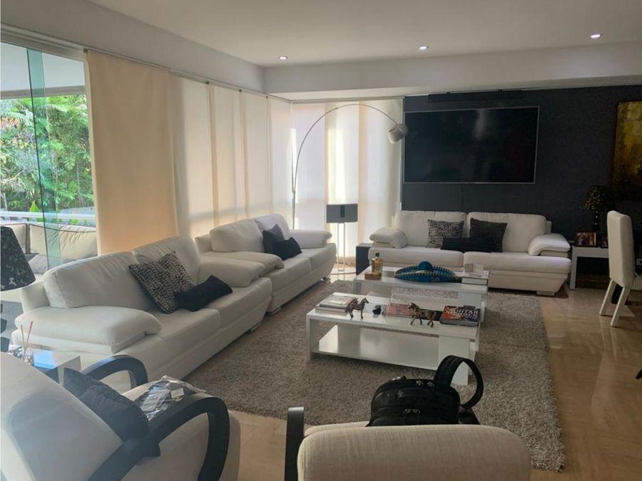 lujoso apartamento en venta en campo alegre
