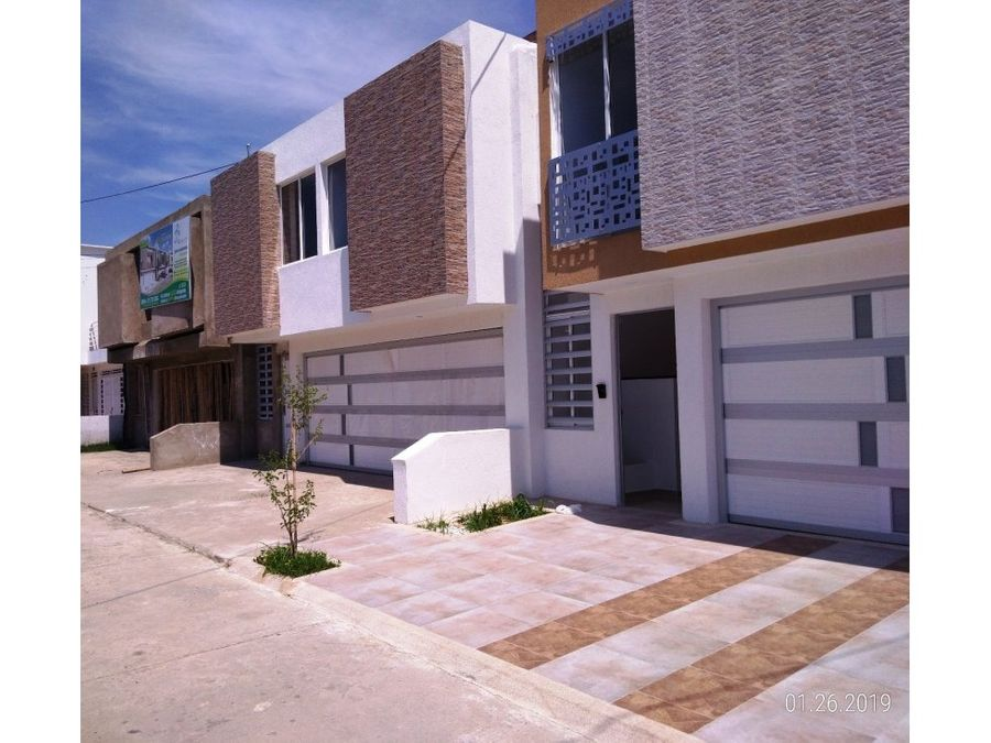 vendo casa nueva independiente en buga