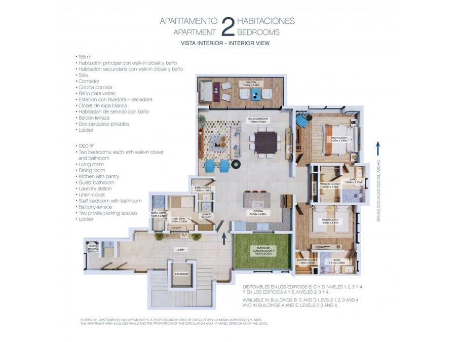 the lofts apartamentos en cap cana