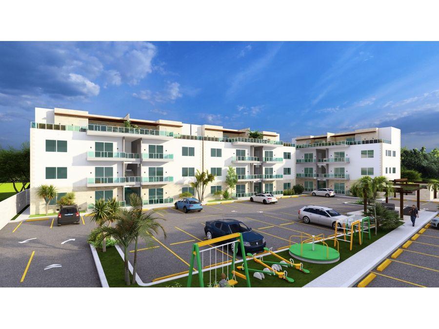 apartamentos en punta cana residencial ciudad de dios