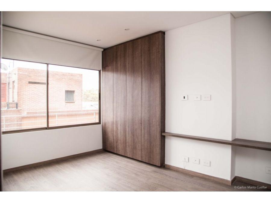se vende apartamento con terraza en chico bogota
