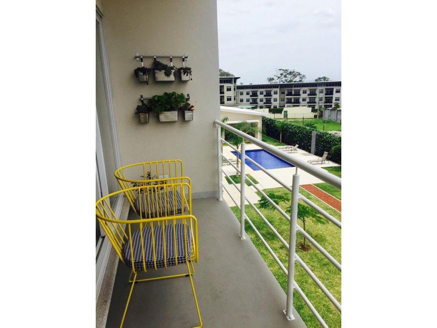 apartamento en santa ana con linea blanca a0531