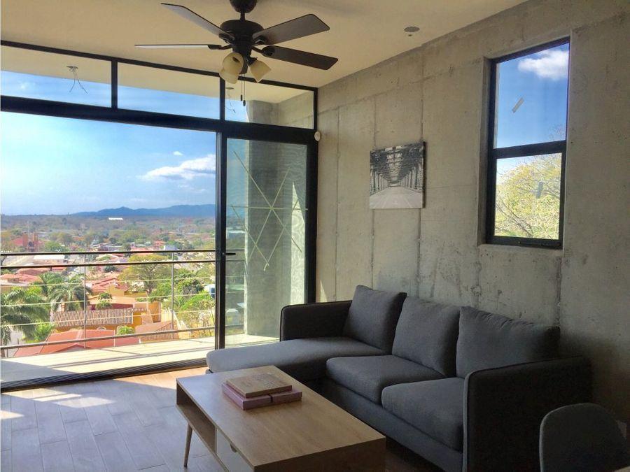 apartamento en santa ana excelente ubicacion a0408