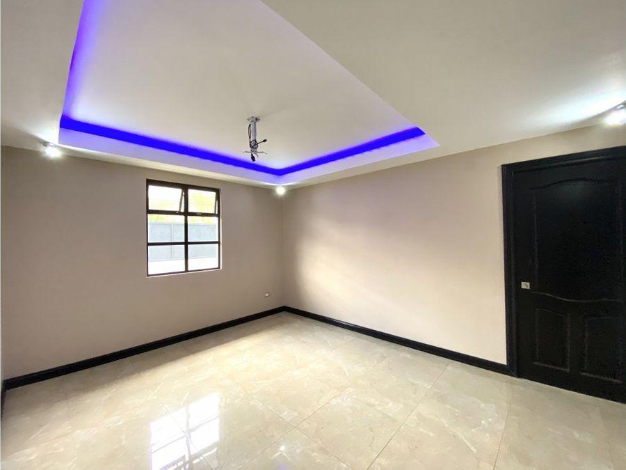 casa en curridabat amplia lujosos acabados v0355