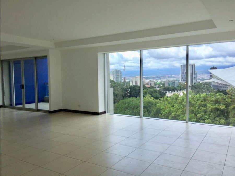 apartamento en sabana torre con increible vista v0213