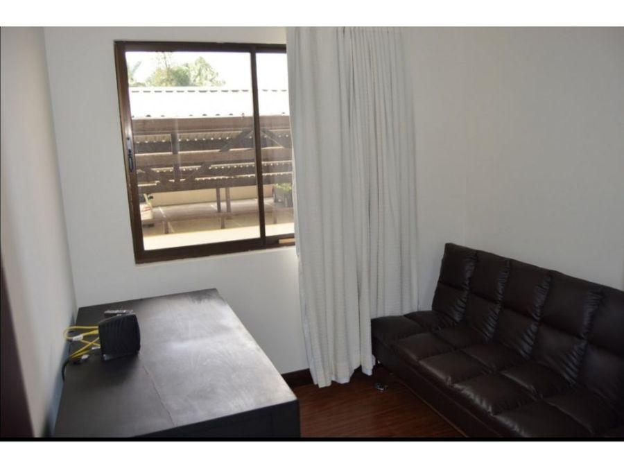 apartamento en santa ana full amoblado a1025