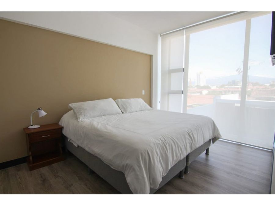 apartamento rohrmoser amoblado y equipado v0374