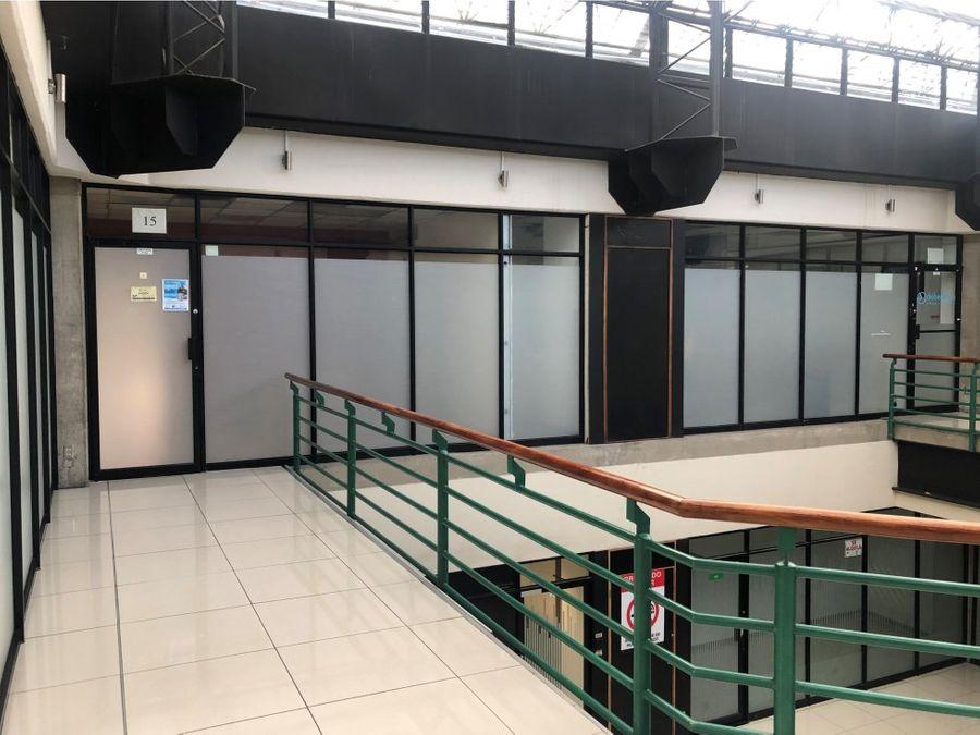 oficina en rohrmoser en exclusivo centro comercial a0810