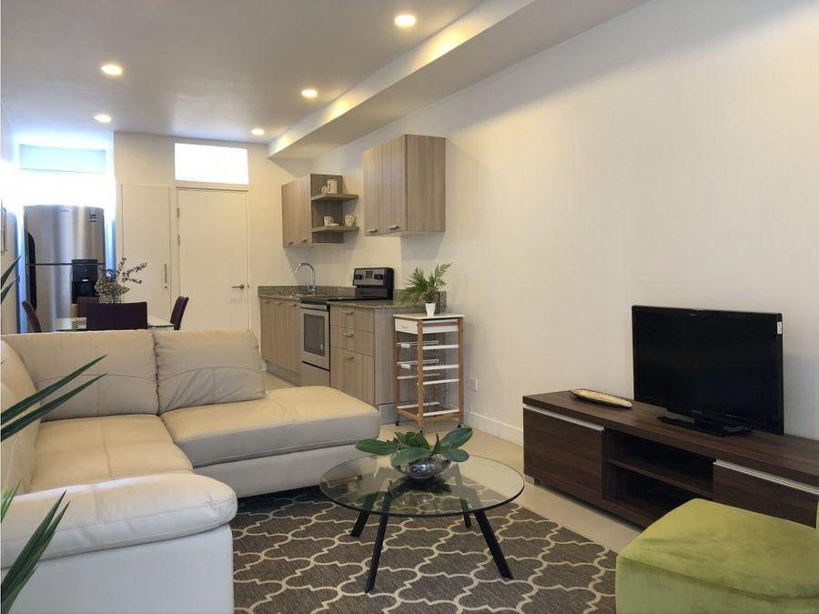 apartamento en rohrmoser buena ubicacion y acabados v0308