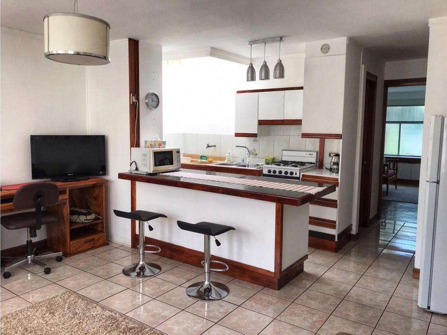 apartamento en rohrmoser bello y full amoblado a1125