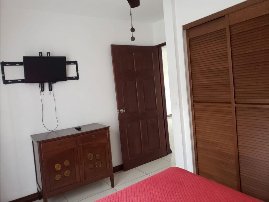 apartamento en escazu en condominio amoblado a1193