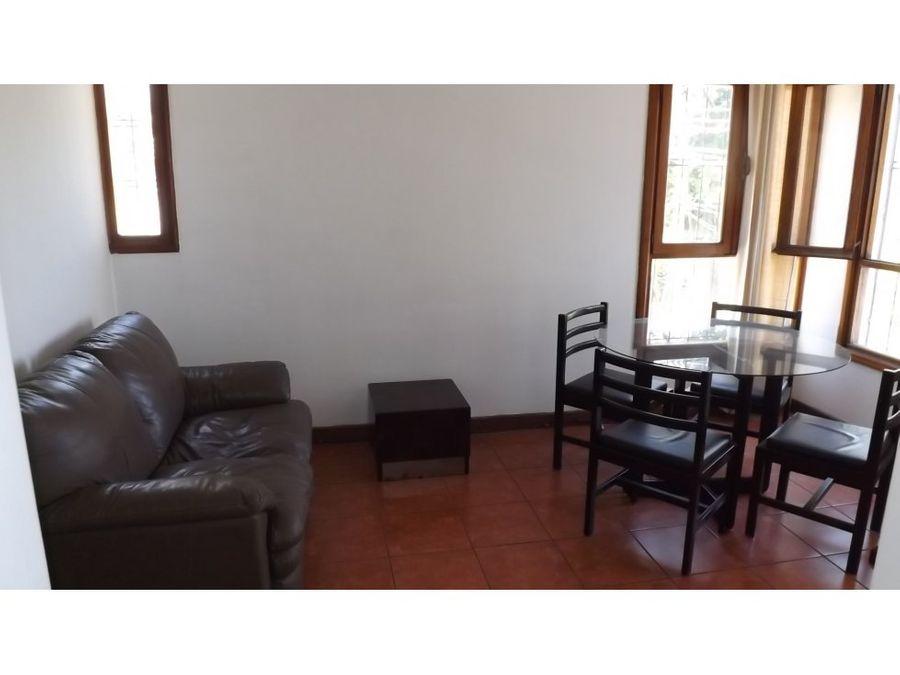 apartamento en rohrmoser amoblado a0928