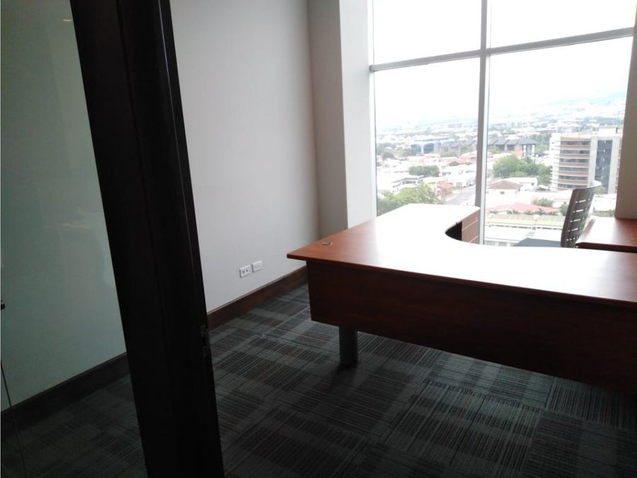 oficina en rohrmoser amoblada a0598