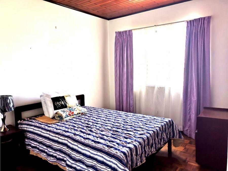 apartamento en rohrmoser amueblado a0417