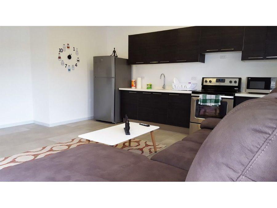 apartamento en escazu servicios incluidos a0989