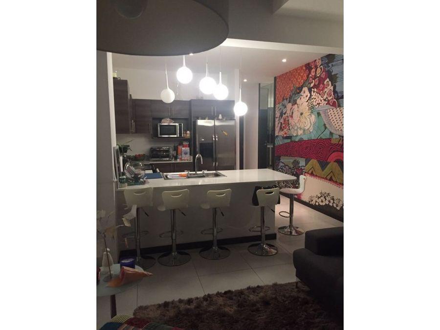 apartamento en santa ana amoblado a0756