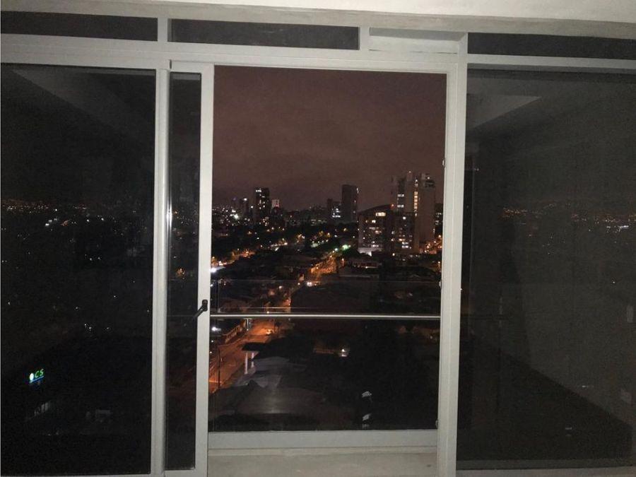 apartamento en rohrmoser en exclusiva torre a0951