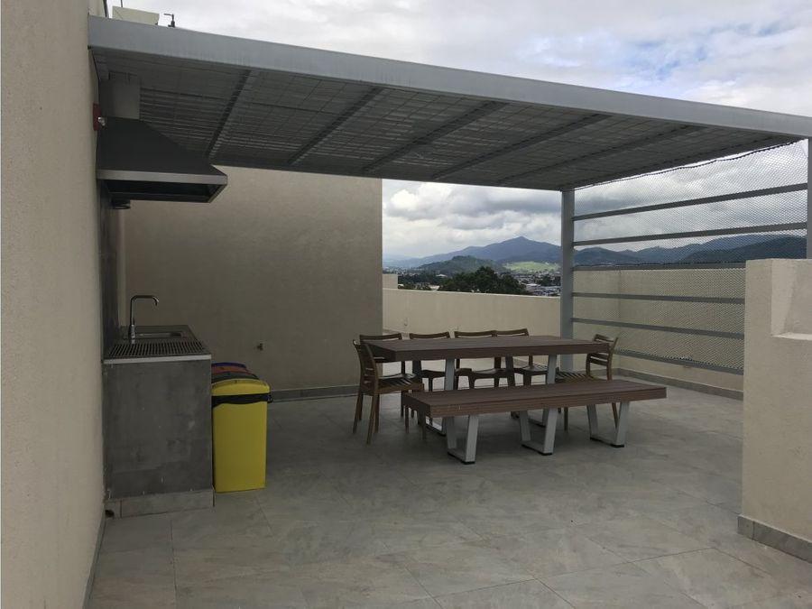apartamento en san sebastian con amenidades v0244