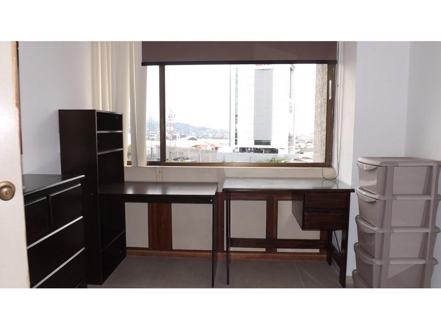 apartamento en rohrmoser full amoblado a1017