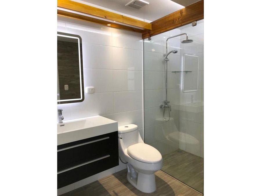 apartamento en rohrmoser lindo y amoblado a1170