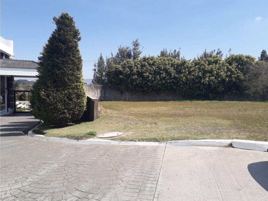 venta de terreno en condominio marias del sol en fraijanes