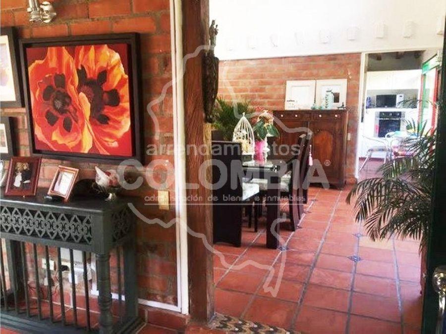 casa campestre en venta las palmas envigado