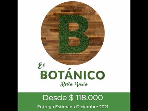 vendo proyecto botanico bella vista 118mil