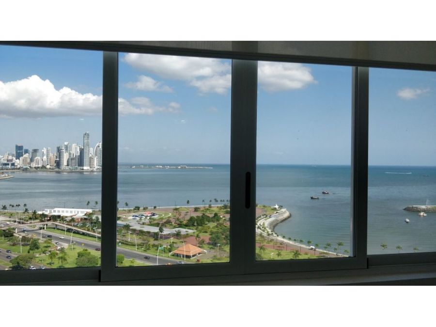 alquilo apto 850 amoblado y vista al mar bay view