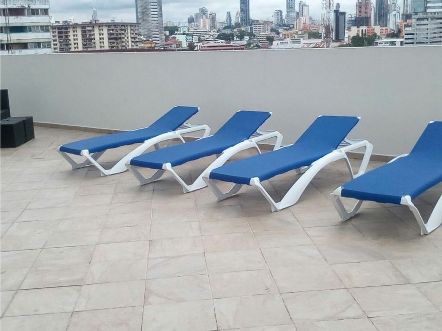 vendo apto de 80m2 con balcon ph bay view