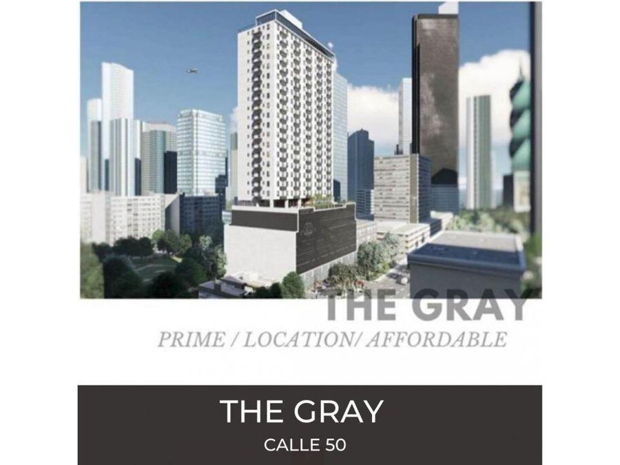 vendo proyecto the gray obarrio 115mil