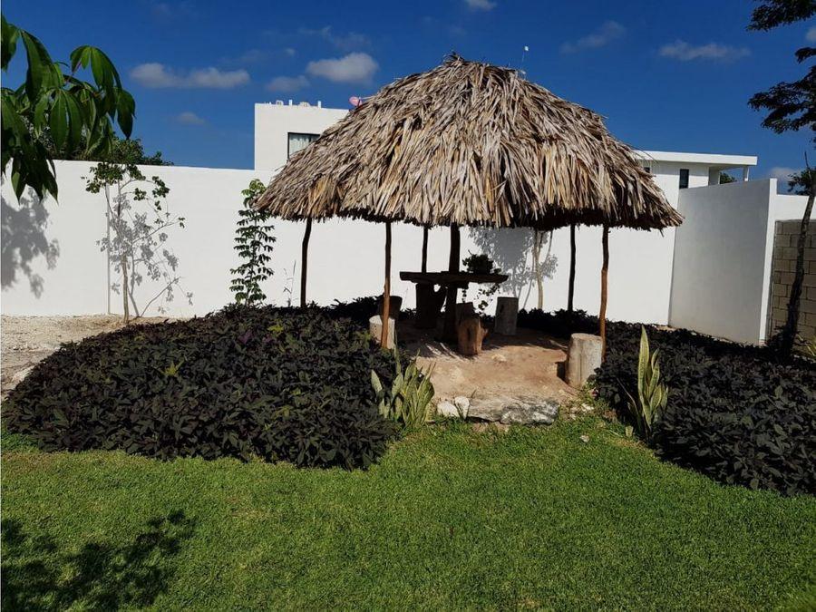 casa en la rejoyada resid komchen merida yucatan