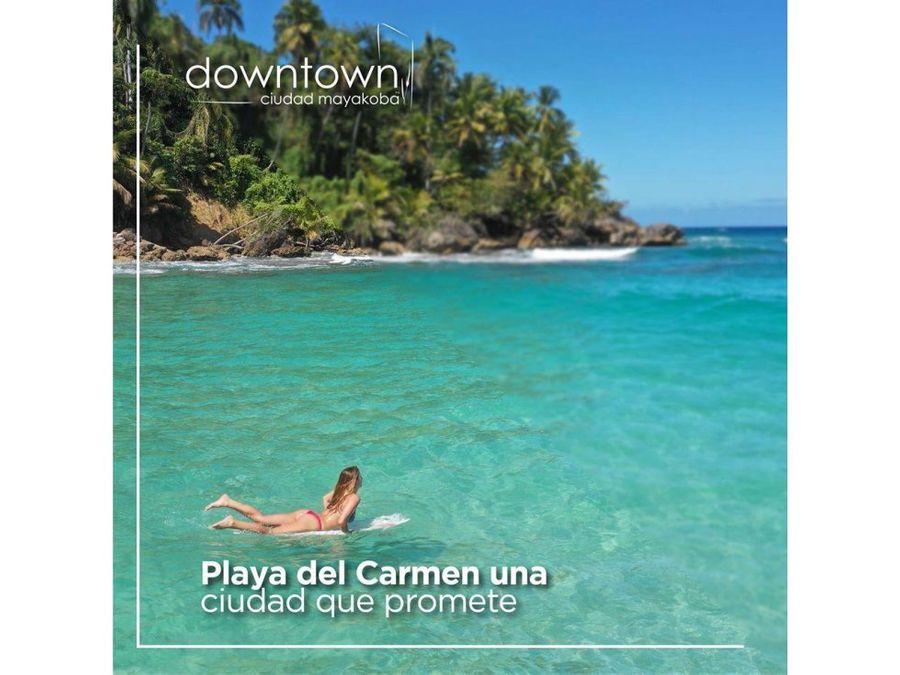 dowtown ciudad mayakoba riviera maya