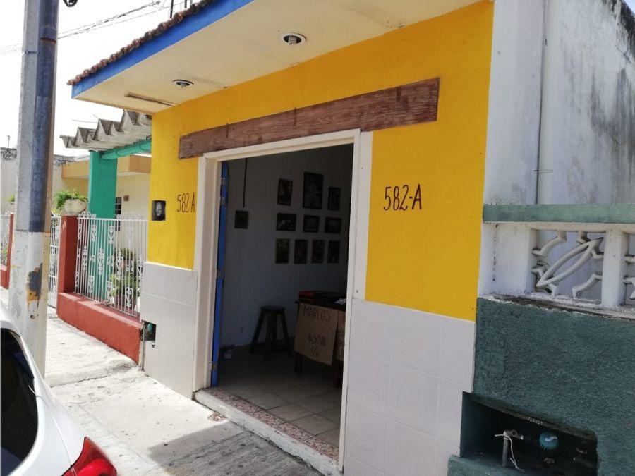 casa c 2 medidores de cfe centro x barrio de santiago