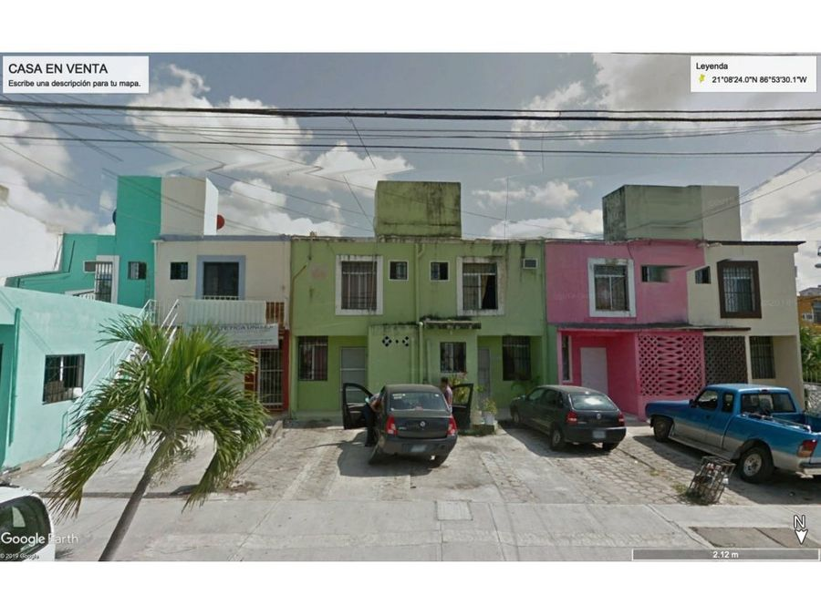 cancun quintana roo casa en venta