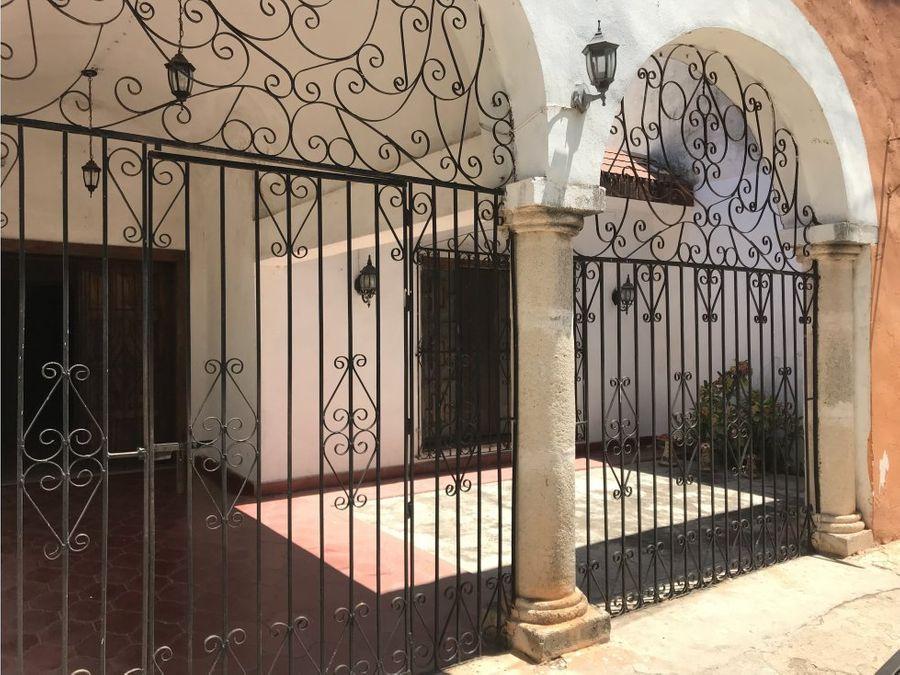 centro de ticul yucatan hermosa casa colonial