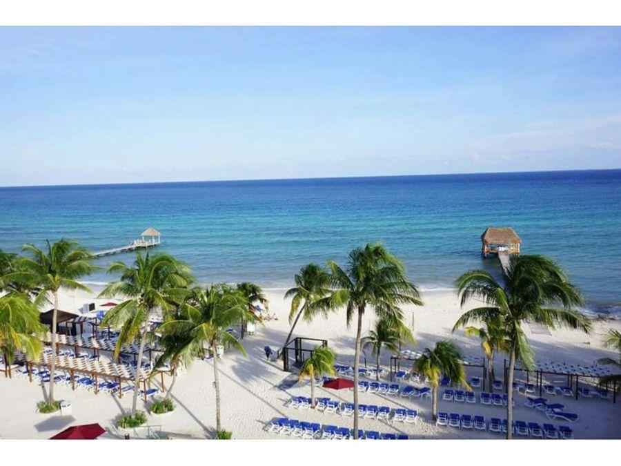 hermoso condo en playa del carmen zona hotelera