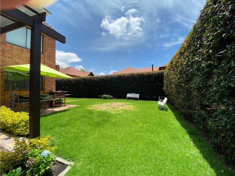 hermosa casa en venta cajica cs 002