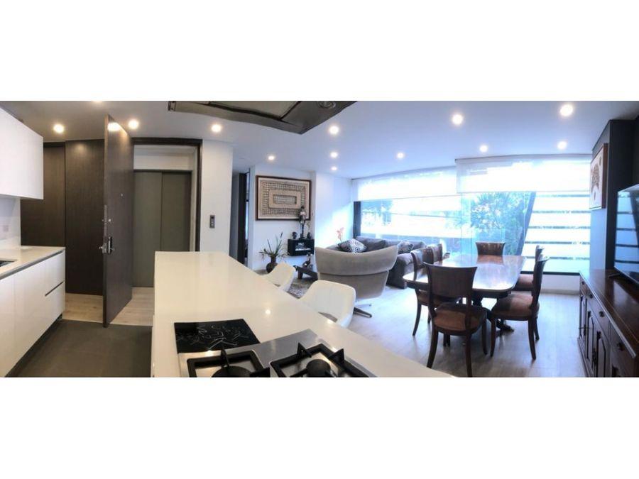 venta apartamento en chico reservado ap 214