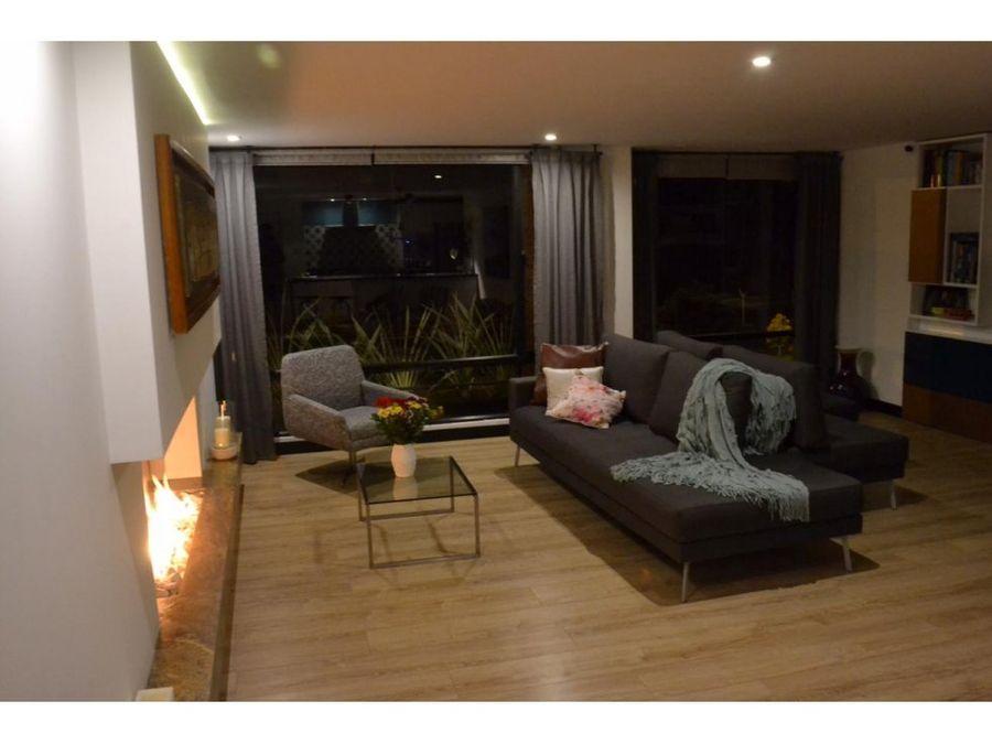 apartamento venta en rosales ap 046