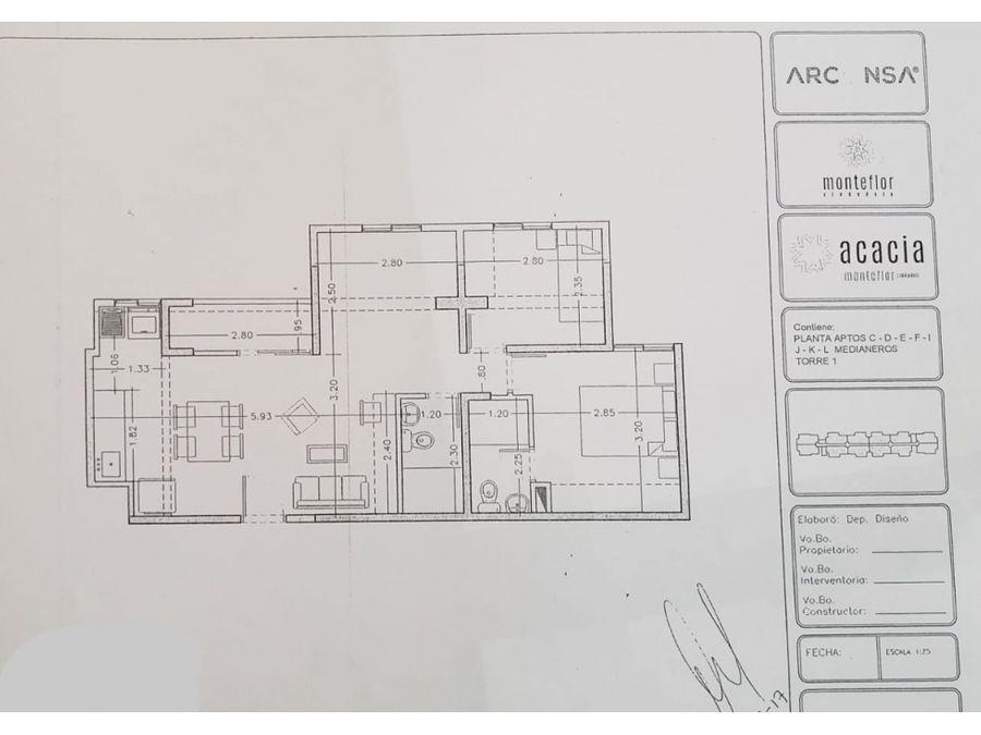 vendo apartamento sabaneta proyecto monteflor