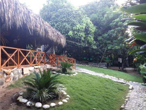se vende hostal en san rafael tayrona via riohacha santa marta