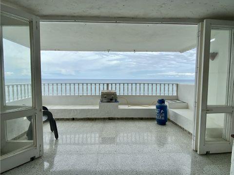 venta apartamento de 2 hab frente al mar en rodadero sur santa marta