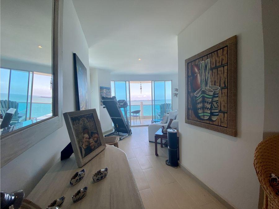 venta de apartamento frente al mar en don jaca santa marta
