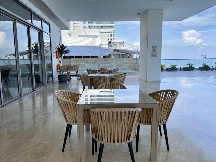 venta apartamento en playa salguero en santa marta