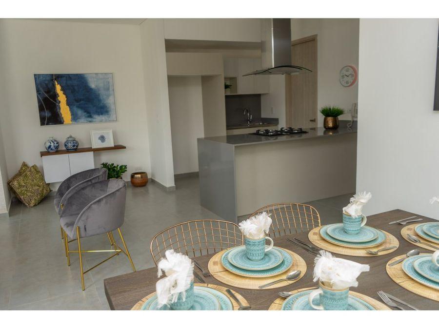 venta de apartamento de 2 hab en playa salguero santa marta