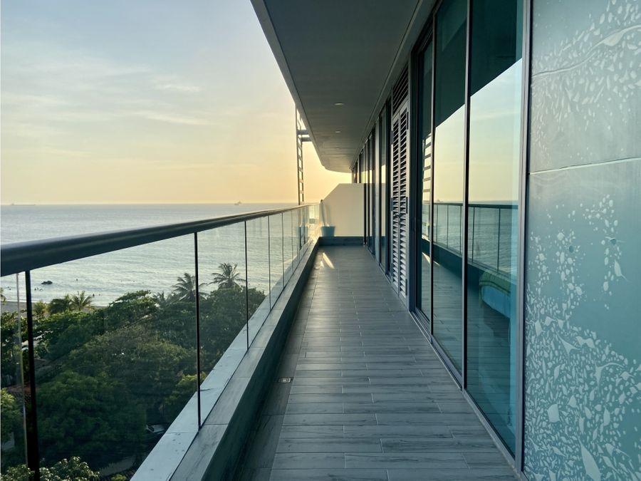 venta de apartamento en two towers en bello horizonte santa marta