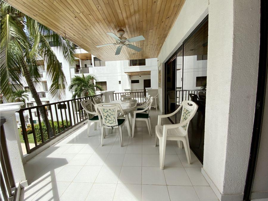 venta de apartamento de 2 hab en bello horizonte santa marta
