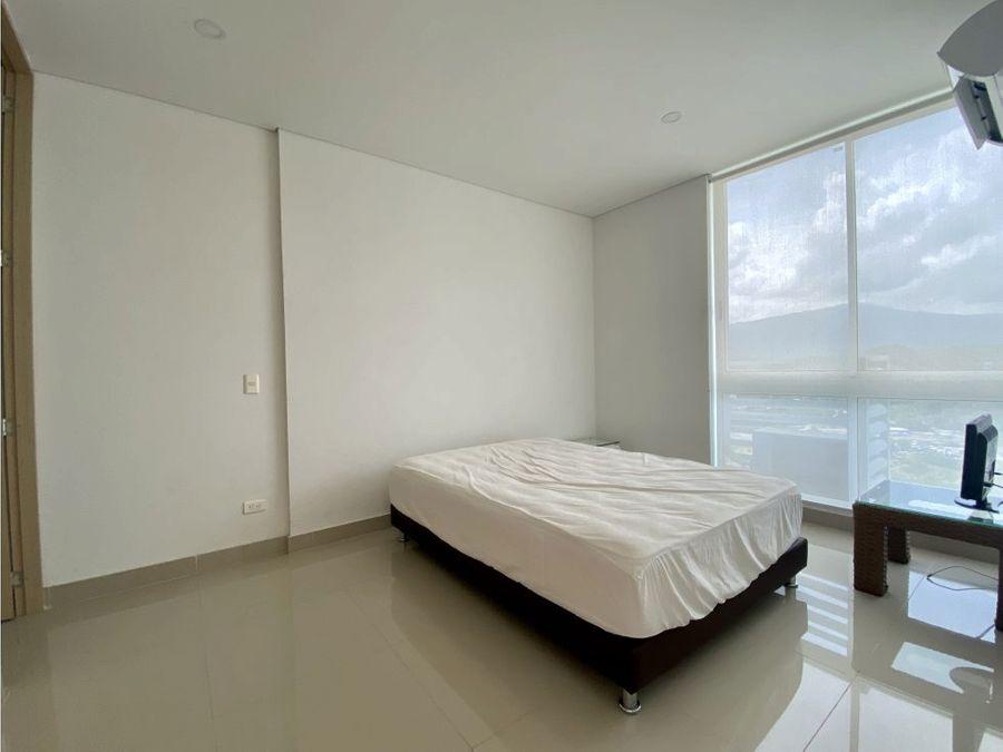 venta apartamento con permiso turistico en playa salguero santa marta