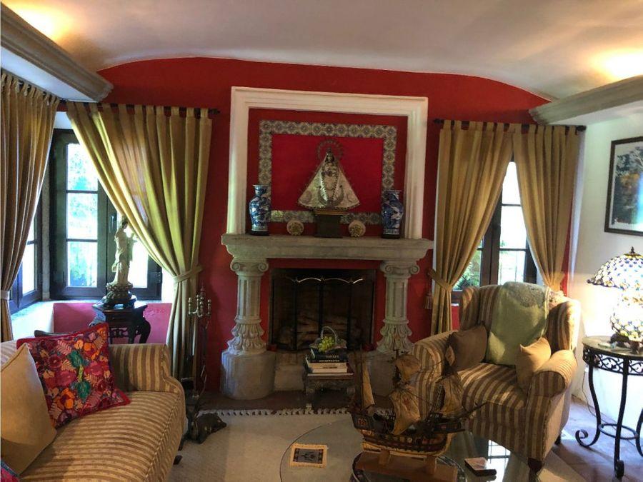 casa en venta zona 16 tipo colonial