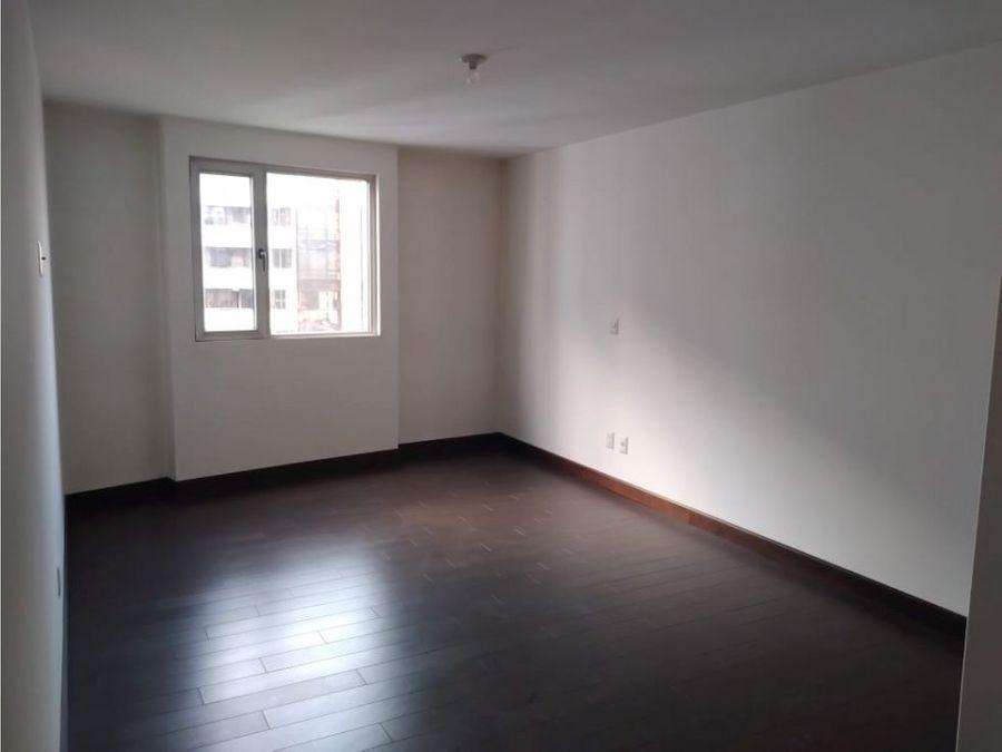 apartamento en alquiler zona 14 edificio attica